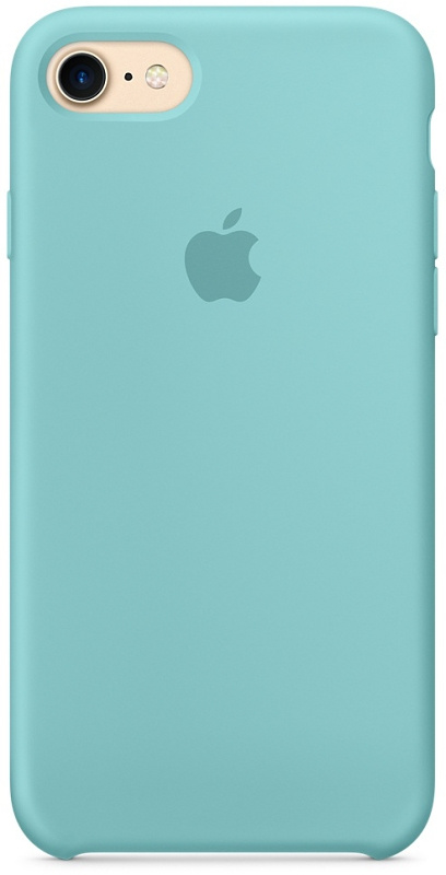 Накладка Apple iPhone 7/8 Silicon Case (Бирюзовый)
