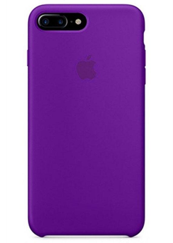 Накладка Apple iPhone 7 Plus/8 Plus Silicon Case (Фиолетовый)