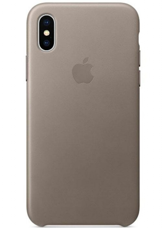 Накладка Apple iPhone X Silicon Case (Серый)