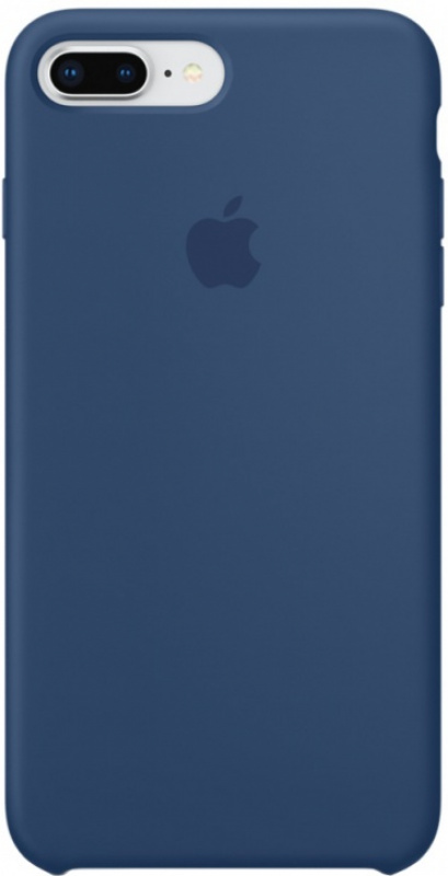 Накладка Apple iPhone 7 Plus/8 Plus Silicon Case (Синий)