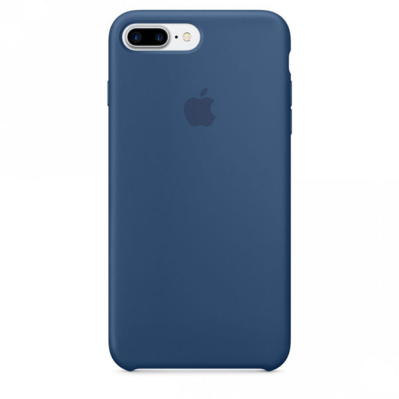 Накладка Apple iPhone 7 Plus/8 Plus Silicon Case Sale (Синий)