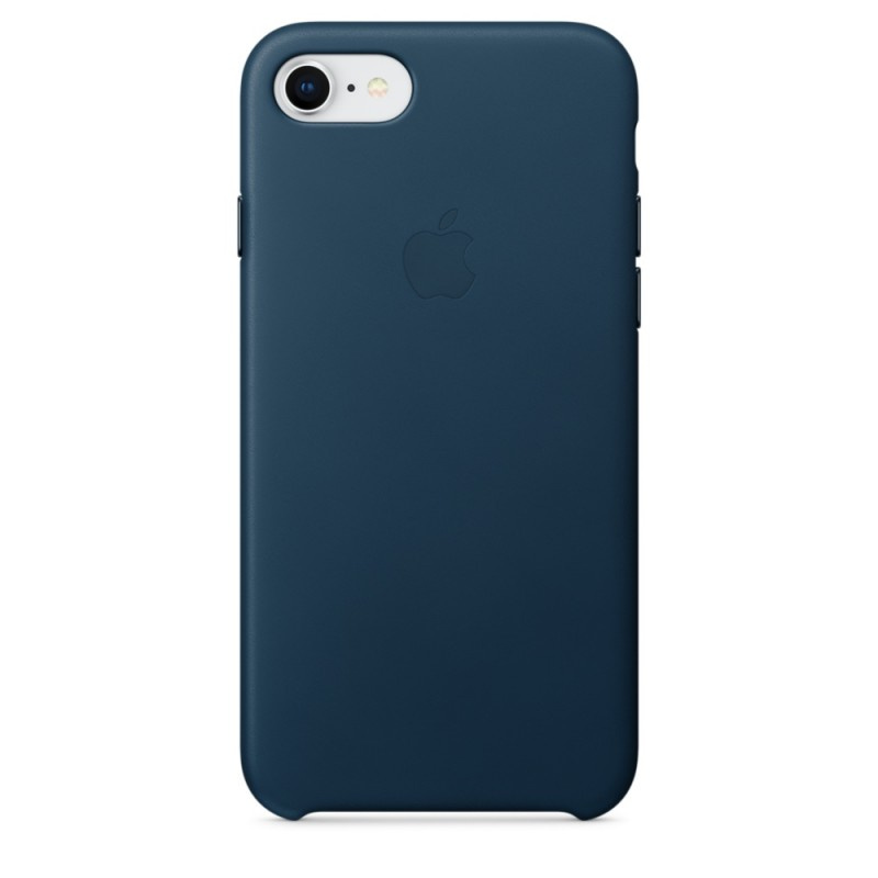 Накладка Apple iPhone 7/8 Silicon Case Sale (Темно-синий)