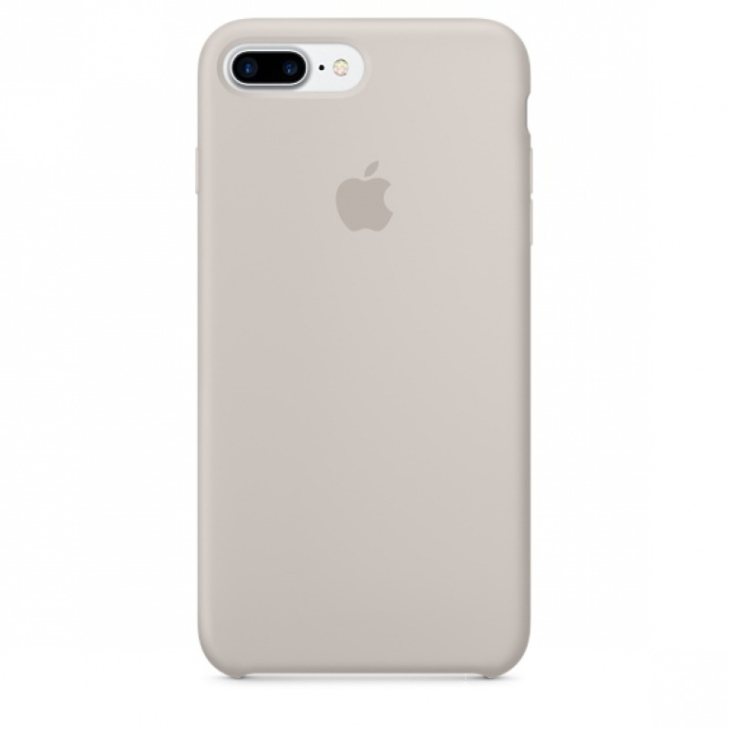 Накладка Apple iPhone 7 Plus/8 Plus Silicon Case (Бежевый)